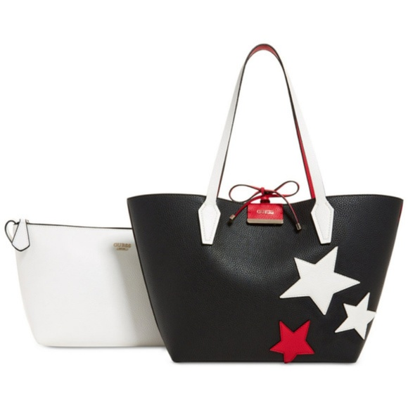 Guess Reversible Star Tote c0a7ee18322e3
